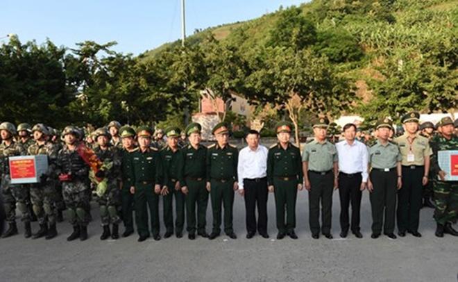 Quân đội Việt Nam và Trung Quốc phối hợp tổ chức diễn tập liên hợp chống khủng bố - Ảnh 12.