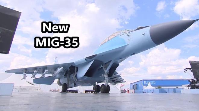MiG-35 có thể thực hiện các động các cơ động có độ khó cao