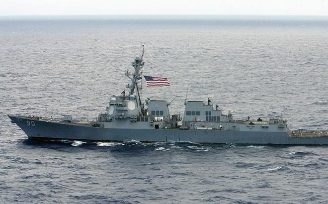 Tàu khu trục tên lửa Mỹ tuần tra sát quần đảo Hoàng Sa, thách thức Trung Quốc