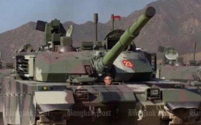 Quân đội Thái Lan tiếp nhận lô hàng 28 xe tăng Trung Quốc