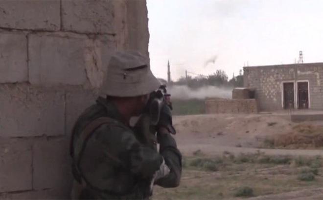 Chiến sự Syria: PV Nga trên tuyến lửa đánh chiếm cứ địa IS ở Deir Ezzor