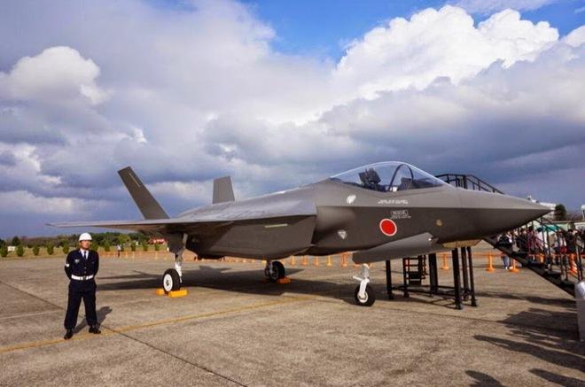 Có tiêm kích tàng hình F-35A, KQ Nhật bật vọt trước áp lực Trung Quốc - Ảnh 1.