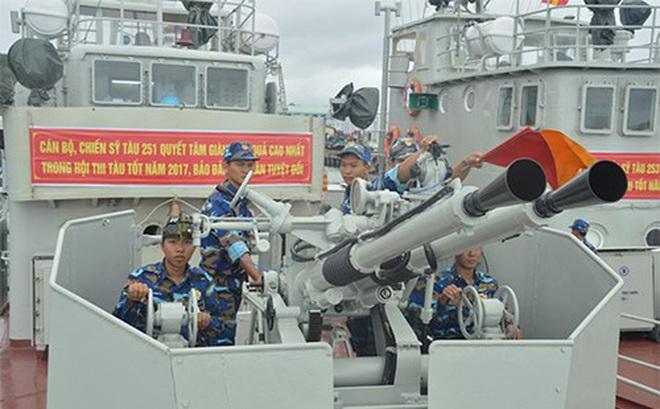 Lữ đoàn 127 (Vùng 5 Hải quân): Chú trọng huấn luyện kỹ năng thực hành cho bộ đội