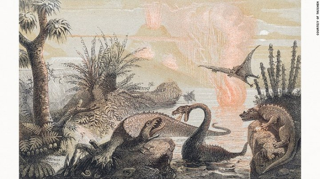 Những bức tranh màu siêu thực về quái vật thời tiền sử - Ảnh 1.