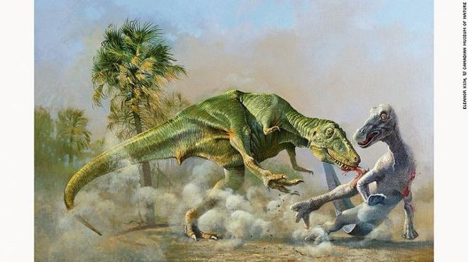 Những bức tranh màu siêu thực về quái vật thời tiền sử - Ảnh 2.