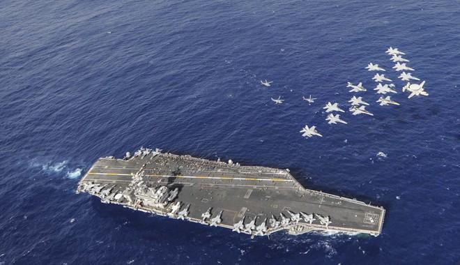 Ba tàu sân bay Mỹ hội tụ: Thông điệp không dành riêng cho Triều Tiên - Ảnh 1.