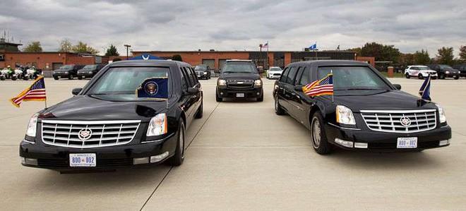 Đội hình xe hộ tống Tổng thống Mỹ: Vì sao được gọi là Nhà Trắng bọc thép di động? - Ảnh 1.