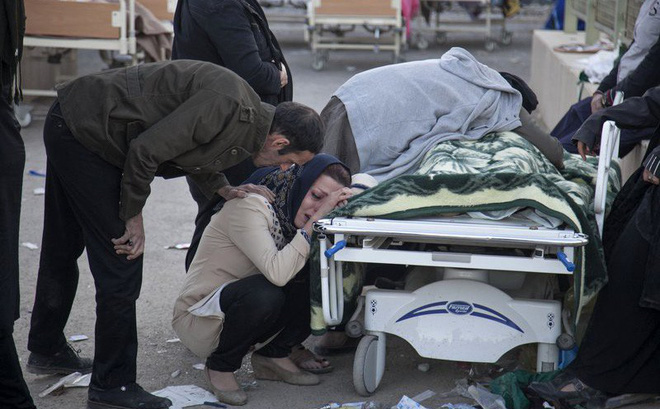 Động đất Iran - Iraq kinh hoàng nhất thế giới 2017: Thương vong đã lên đến hơn 7.000