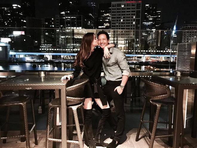 HOT: Hà Hồ công khai hôn má Kim Lý trong ngày sinh nhật, chính thức xác nhận hẹn hò! - Ảnh 2.