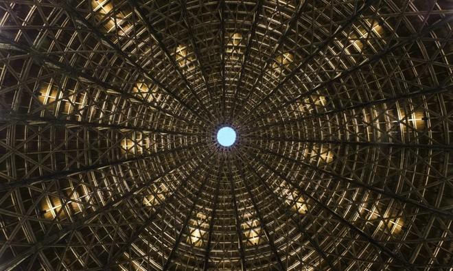 Nhà hàng vòm tre, mái lợp tranh nổi bật ở Sơn La khiến báo nước ngoài thán phục - Ảnh 10.