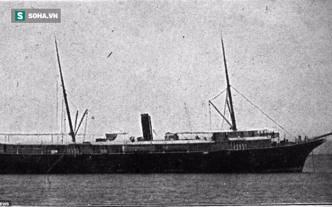 """Tìm thấy xác tàu """"Titanic Chile"""" bí ẩn sau 95 năm mất tích dưới đáy biển"""