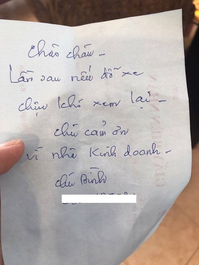 Đỗ xe chắn cửa, chủ nhà chỉ để lại mảnh giấy và tin nhắn phản hồi của tài xế khiến nhiều người mỉm cười - Ảnh 2.