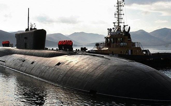 Nga hạ thủy tàu ngầm hạt nhân 'Hoàng tử Vladimir'