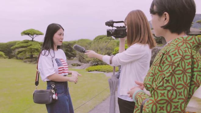 Mẫn Tiên xuất hiện xinh đẹp và gây chú ý trên đài truyền hình của Nhật Bản - Ảnh 2.