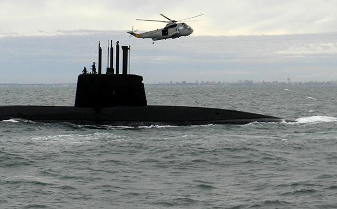 Vụ nổ tàu ngầm Argentina mạnh hơn sức công phá của 100kg TNT