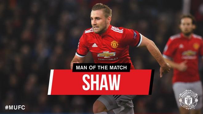 Luke Shaw được bầu là Cầu thủ hay nhất trận, Mourinho nói gì? - Ảnh 1.