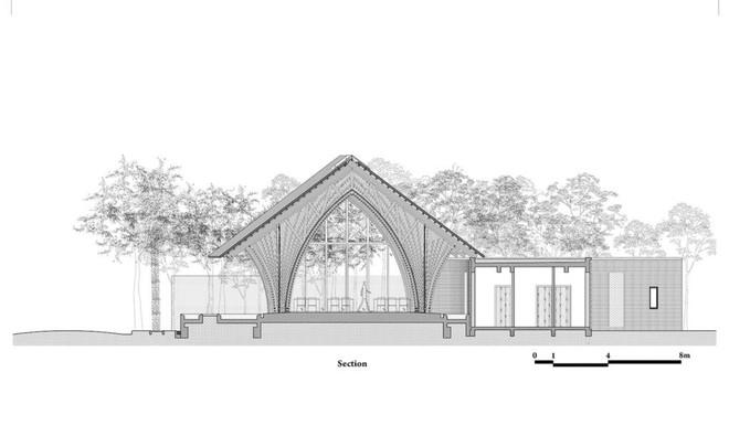 Nhà hàng tre của kiến trúc sư Việt đang xây dở đã lên tạp chí danh tiếng - Ảnh 7.
