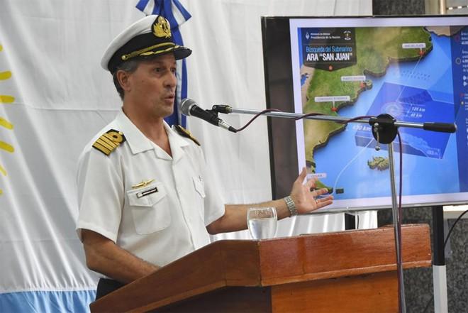 Tàu ngầm Argentina bị phá tan trong tích tắc? - Ảnh 1.