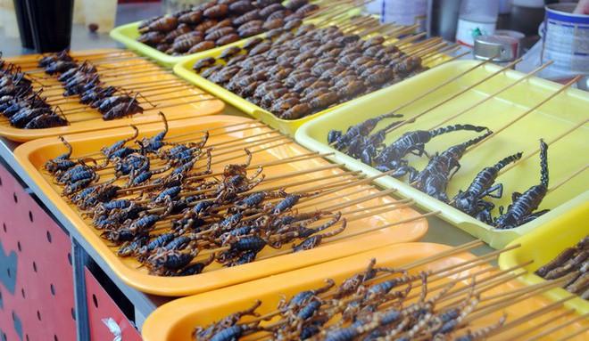 Những món ăn côn trùng kinh dị không phải ai cũng dám thử, đặc sản Việt Nam cũng góp mặt trong đó - Ảnh 1.