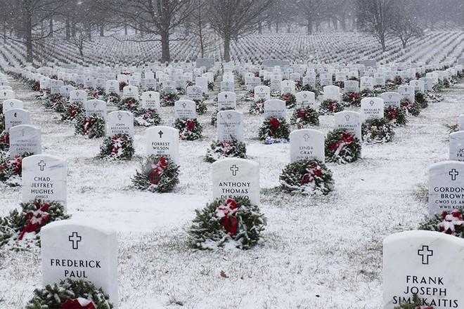Những khoảnh khắc xúc động trong đời binh nghiệp của binh sĩ Mỹ - Ảnh 15.