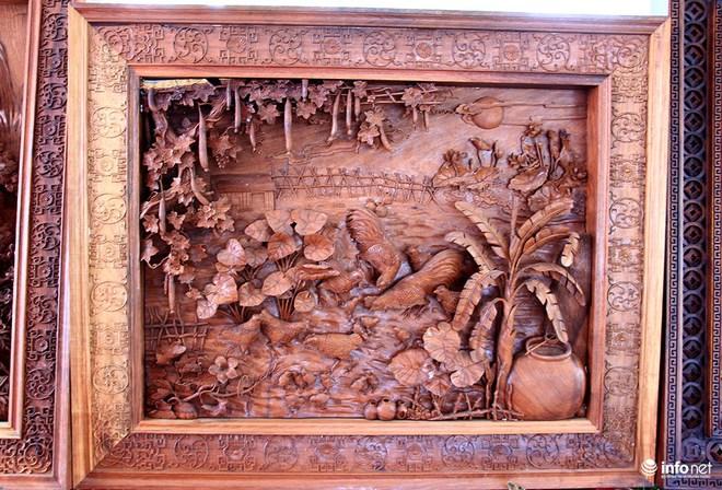 """Đại gia """"săn"""" đồ gỗ mỹ nghệ giá vài trăm triệu đồng ở chợ hoa xuân TP.HCM - Ảnh 11."""