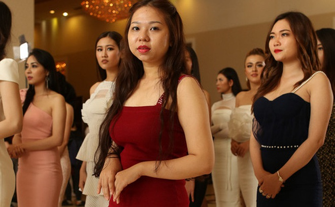 """Ngỡ ngàng trước nhan sắc của nhiều thí sinh tham gia """"Hoa hậu Hoàn vũ"""" miền Nam"""