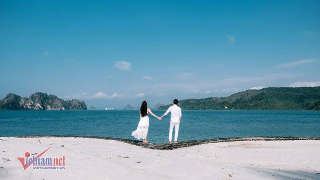 Ảnh cưới lãng mạn trên du thuyền của MC Thành Trung và hotgirl 9x - Ảnh 12.
