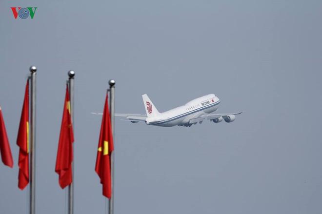 Ảnh: Chủ tịch Trung Quốc rời Hà Nội, kết thúc chuyến thăm Việt Nam - Ảnh 12.