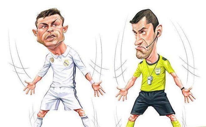 Ảnh chế: Ronaldo hóa siêu nhân trong trận thắng Bayern