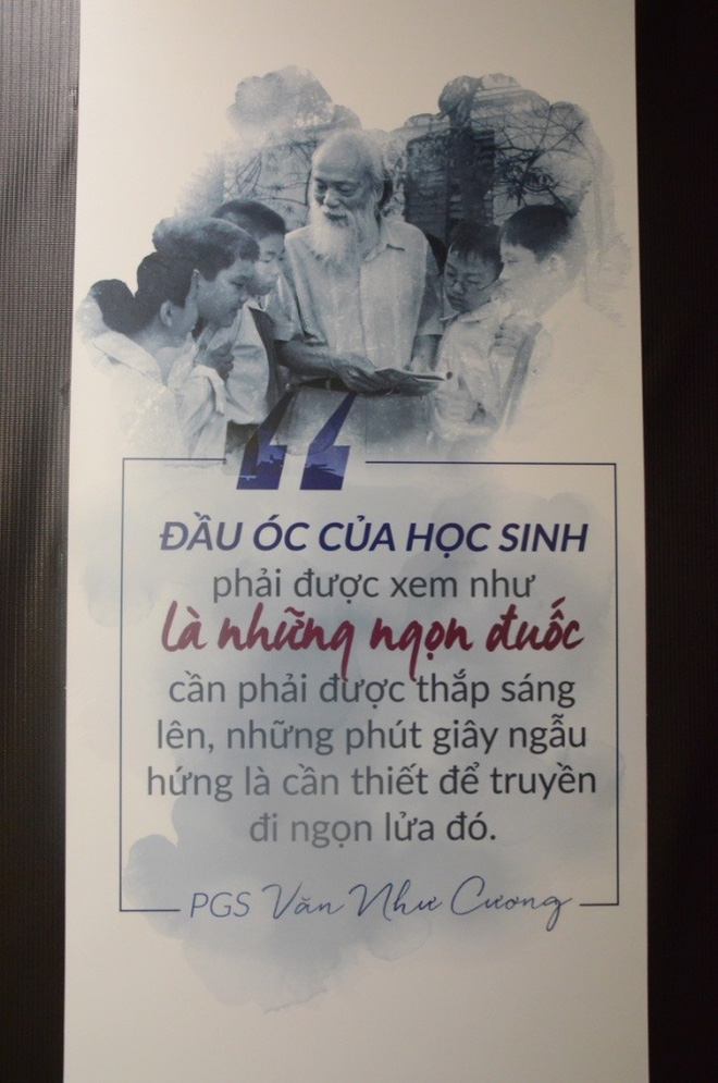 """Hàng vạn hạc giấy """"yêu thương"""" và lễ tri ân đầy dấu ấn về thầy Văn Như Cương - Ảnh 17."""
