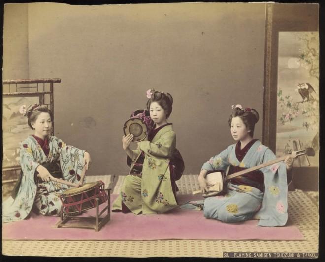 Cuộc sống Nhật Bản xưa qua những bức ảnh màu - Ảnh 20.