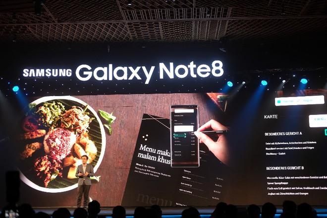 Samsung tung Galaxy Note 8 tại Việt Nam, giá từ 22,5 triệu đồng - Ảnh 3.