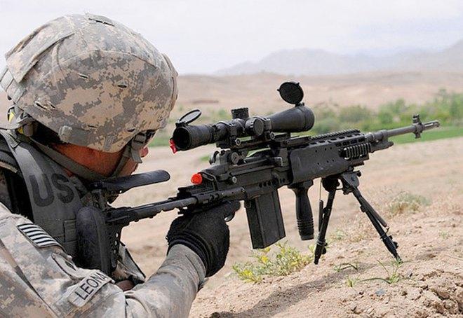 Mk 14 EBR – Khẩu súng xóa nhòa ranh giới giữa súng trường tấn công và súng bắn tỉa - Ảnh 3.