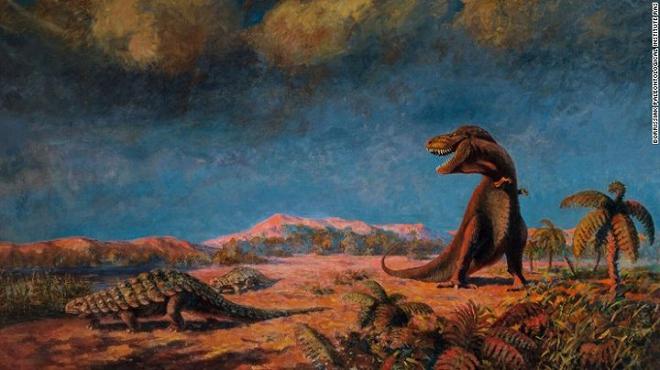 Những bức tranh màu siêu thực về quái vật thời tiền sử - Ảnh 3.