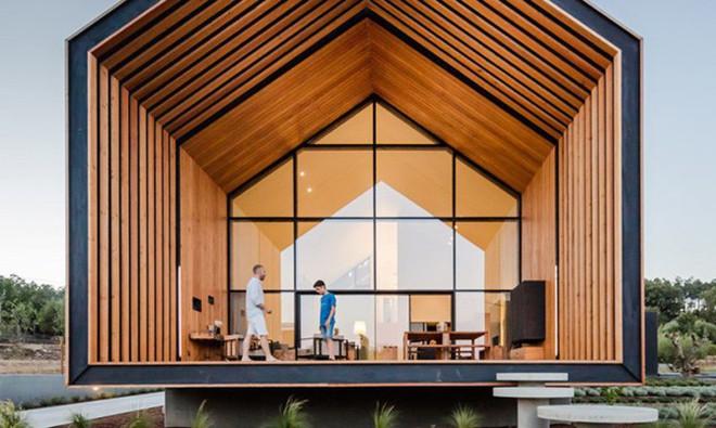 Ngôi nhà xinh đẹp lấy cảm hứng từ bản vẽ của một đứa trẻ - Ảnh 3.