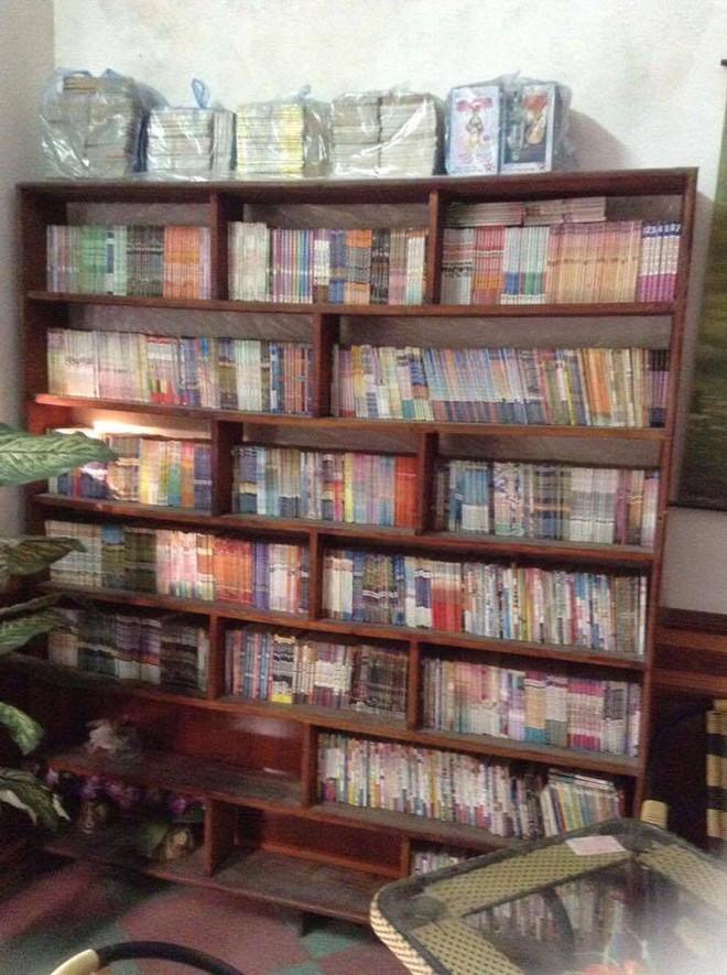 Thanh niên nhịn ăn sáng suốt 16 năm để mua hơn 6000 quyển truyện tranh - ảnh 3