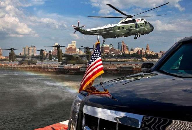 Đội hình xe hộ tống Tổng thống Mỹ: Vì sao được gọi là Nhà Trắng bọc thép di động? - Ảnh 4.
