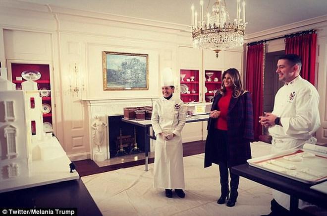 Giáng sinh đầu tiên của ông Trump tại Nhà Trắng có gì? - Ảnh 2.