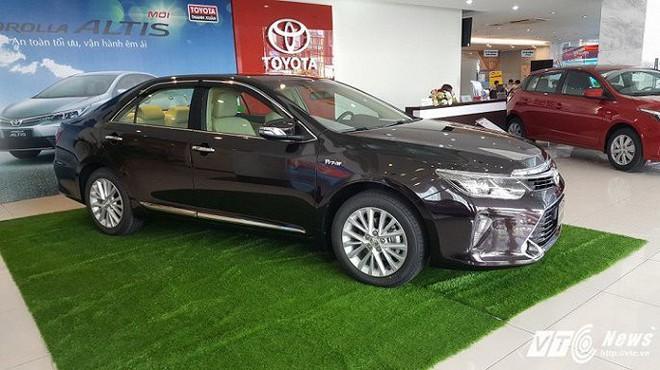 Toyota giảm giá lần cuối trong năm 2017, tới 40 triệu đồng - Ảnh 1.
