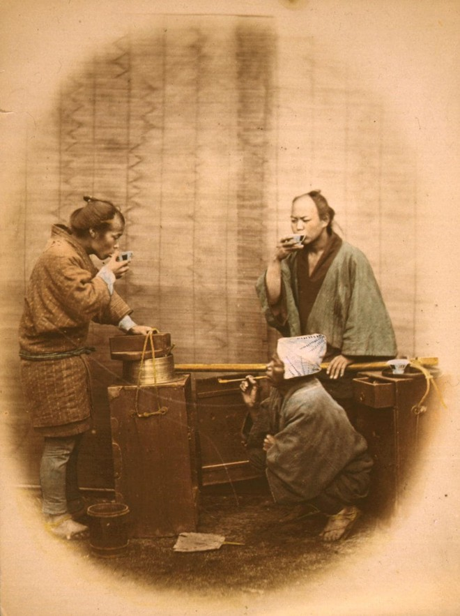 Cuộc sống Nhật Bản xưa qua những bức ảnh màu - Ảnh 21.