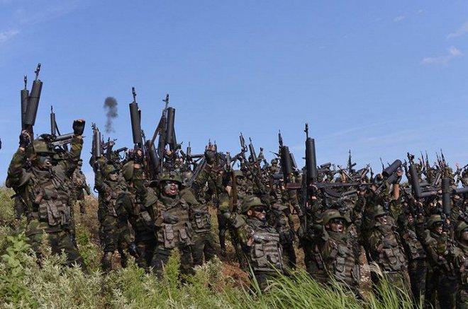 Ảnh hiếm đặc nhiệm Triều Tiên tập trận đổ bộ chiếm đảo - Ảnh 22.