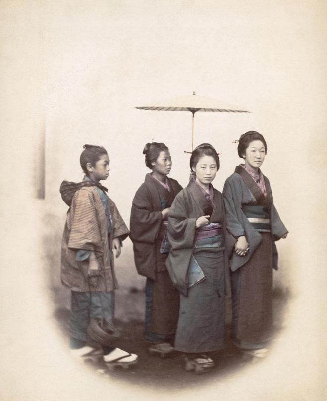 Cuộc sống Nhật Bản xưa qua những bức ảnh màu - Ảnh 23.