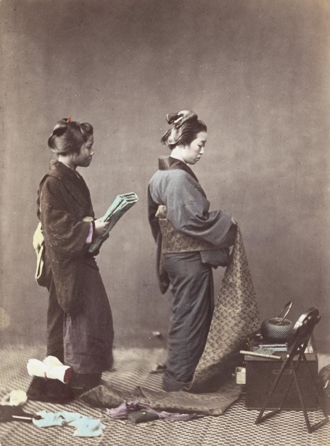 Cuộc sống Nhật Bản xưa qua những bức ảnh màu - Ảnh 24.