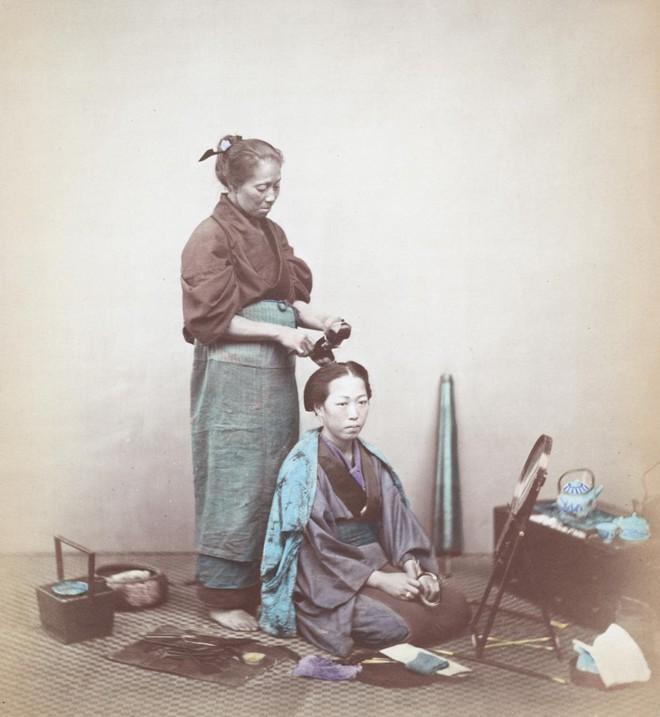 Cuộc sống Nhật Bản xưa qua những bức ảnh màu - Ảnh 4.