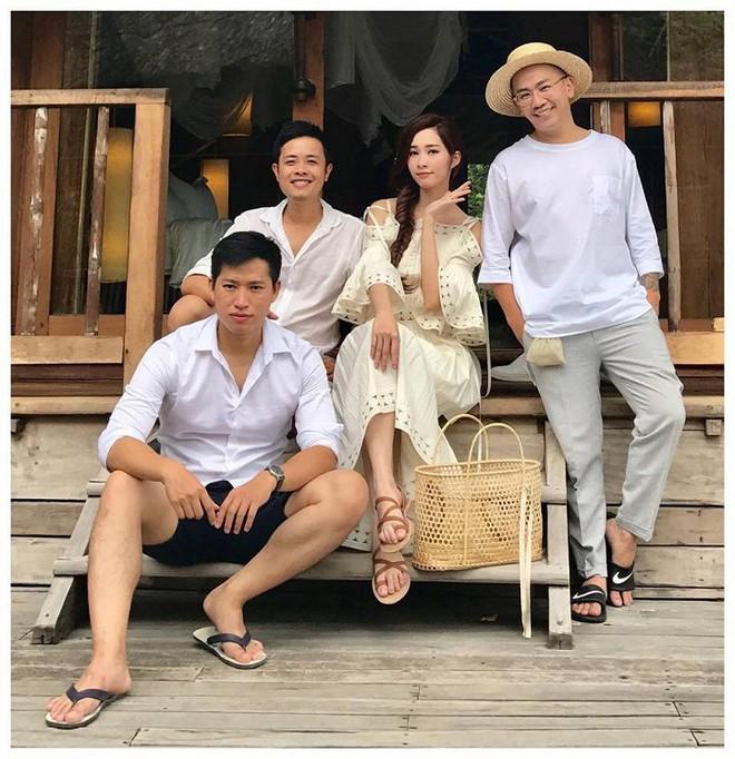 Hé lộ hậu trường chụp ảnh cưới của Hoa hậu Đặng Thu Thảo và bạn trai đại gia - Ảnh 4.