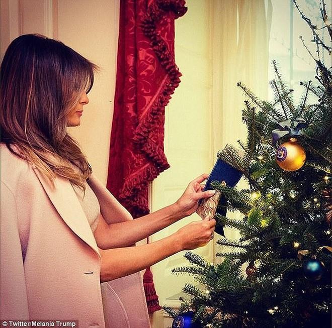 Giáng sinh đầu tiên của ông Trump tại Nhà Trắng có gì? - Ảnh 3.