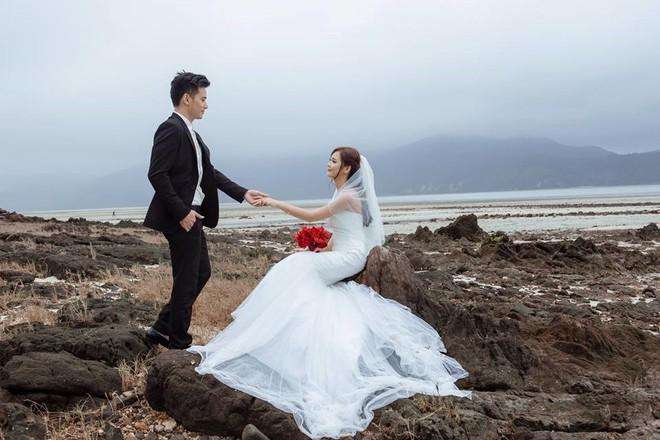 'Hot girl dân tộc' hạnh phúc bên chồng trong bộ ảnh cưới - ảnh 5