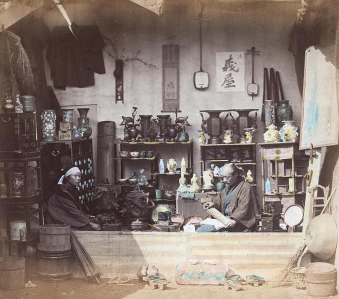 Cuộc sống Nhật Bản xưa qua những bức ảnh màu - Ảnh 5.