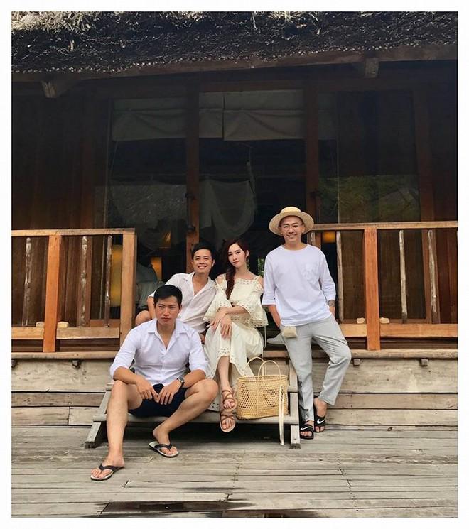 Hé lộ hậu trường chụp ảnh cưới của Hoa hậu Đặng Thu Thảo và bạn trai đại gia - Ảnh 5.