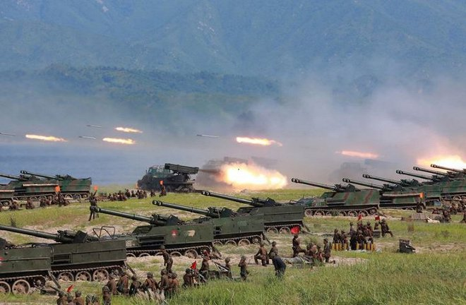Ảnh hiếm đặc nhiệm Triều Tiên tập trận đổ bộ chiếm đảo - Ảnh 5.